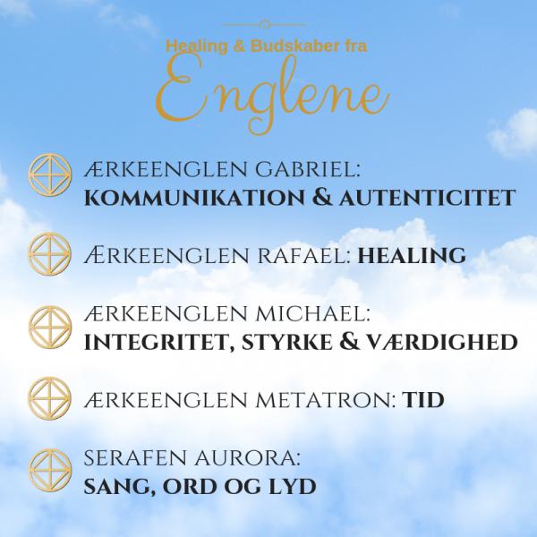 Program Healing og Budskaber fra Englene Rie Jespersen