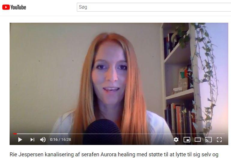 Kanalisering af Serafen Aurora, Rie Jespersen