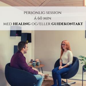 Personlig session a 60 minutter med healing og guidekontakt Rie Jespsersen