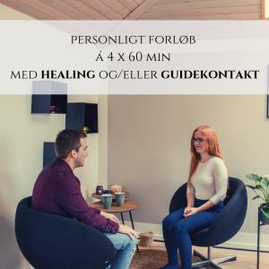 Personligt forløb med healing og guidekontakt ved Rie Jespersen