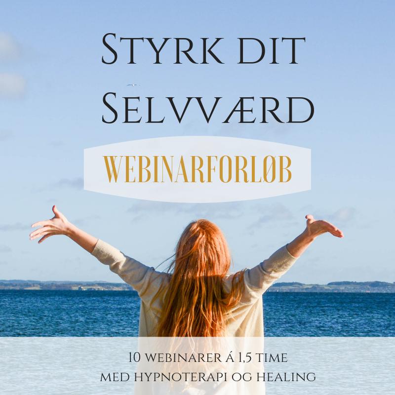 Styrk dit Selvværd webinarforløb